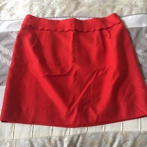 Gorgeous light wool skirt; perfect for work